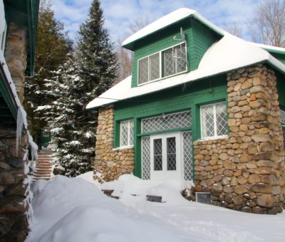 Winter at the Fieldstone Lodge